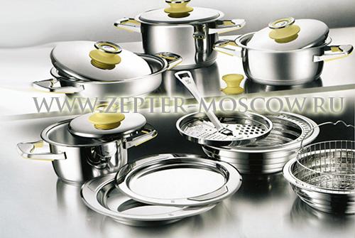 Стальная посуда Цептер